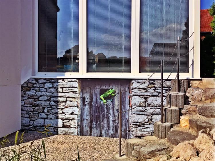Hausmauergestaltung