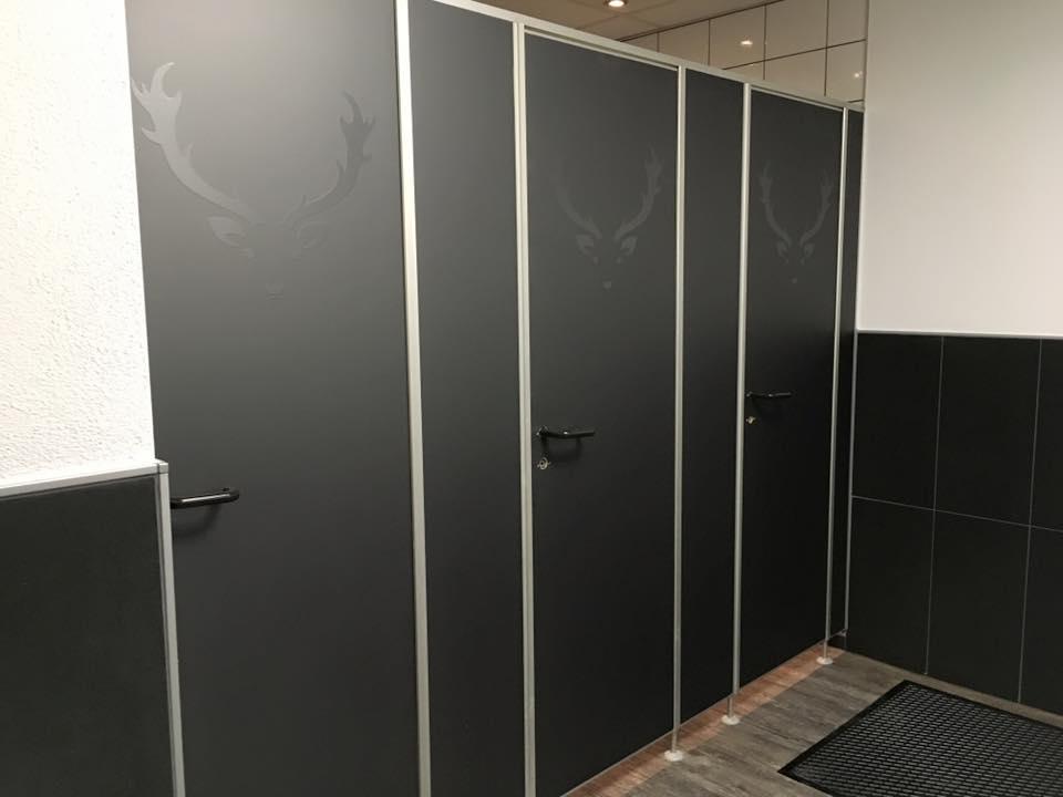 Gestaltung der Toilettenanlagen
